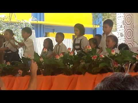 San joaquin elementary school..moving up ceremony..thanks to you by kinder garten