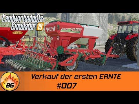 LS19 - Felsbrunn #007 | Verkauf der ersten ERNTE | Landwirtschafts Simulator 19 | Let's Play [HD]