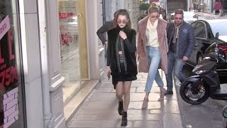 EXCLUSIVE - Gigi Hadid, Bella Hadid and some sexy lingerie in Paris