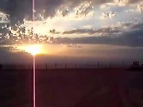 Tikrit, Iraq. FOB Speicher. Morning autumn sun