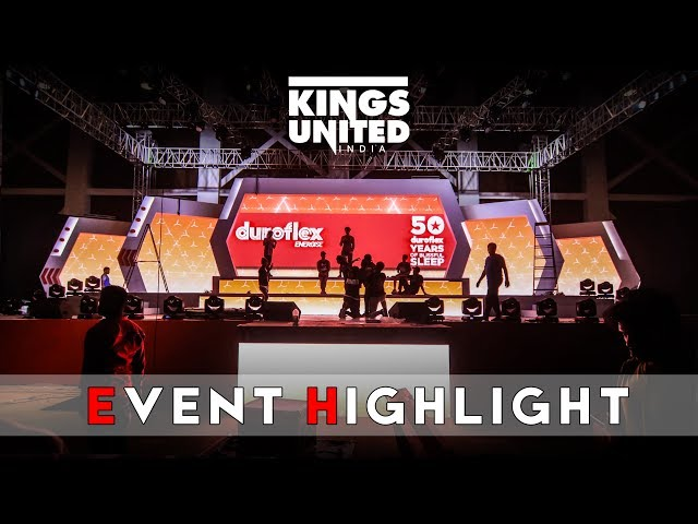 The Kings | Kings United | Duroflex | Hyderabad Show | Highlight