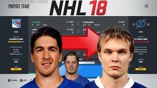 NHL 18 - MCDONAGH TO TAMPA BAY TRADE SIMULATION
