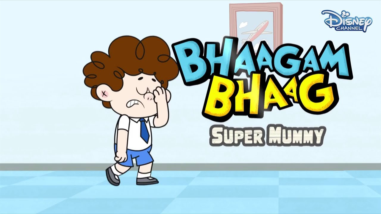 Download Bhaagam Bhaag Episode 3- Funny Hindi Cartoon  For Kids - Disney India