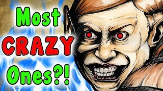 Top 10 CRAZIEST Zelda Characters! (The Legend Of Zelda Series)
