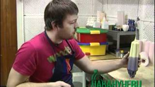 Резные свечи своими руками(Видео о том, как сделать резную свечу. Мастер-класс на Уральской свечной фабрике. Это просто супер! http://urcf.l..., 2010-12-30T07:03:45.000Z)