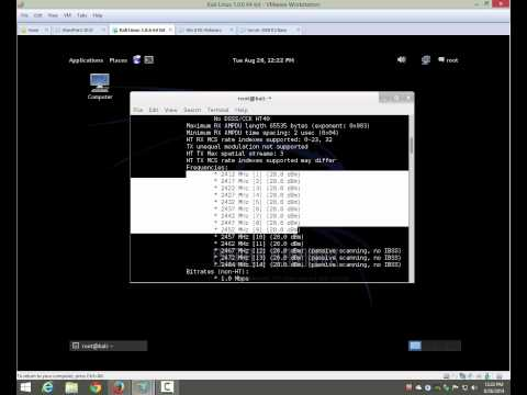 Kali Linux WiFi Analysis Webinar - Getting Up and Running