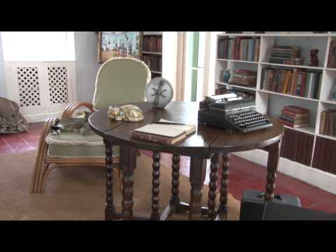 Interview At Ernest Hemingway's Writing Studio - Key West Florida