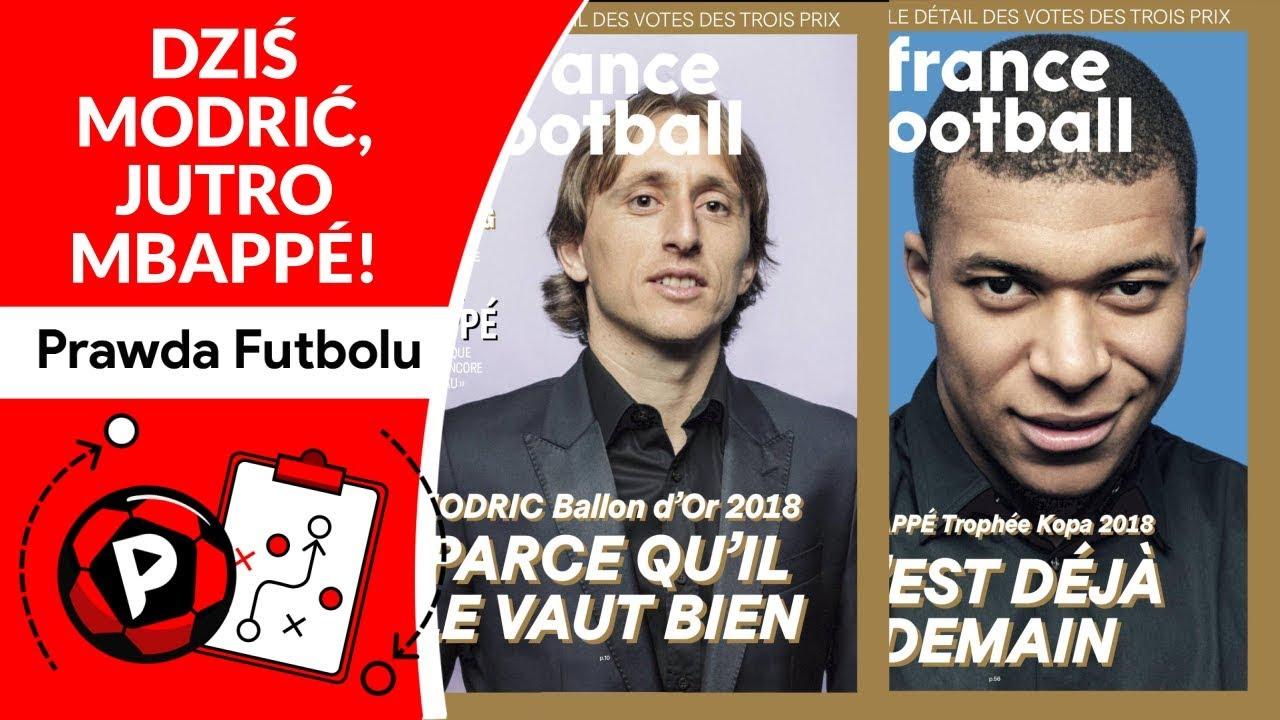 Kres Ery Cr7 I Messiego Złota Piłka France Football Dla Modrica