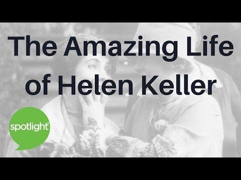 """The Amazing Life of Helen Keller"" - practice English with Spotlight"