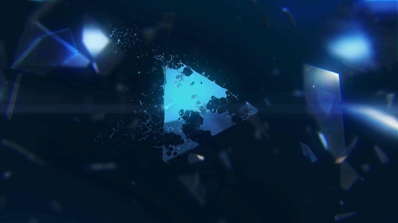 Broken Glass Logo Reveal
