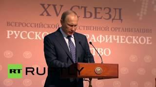 Russia: Putin touts