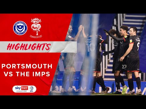 Portsmouth Lincoln Goals And Highlights