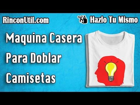 Consejos de hogar idea para doblar camisetas truco p - Tabla para doblar camisetas ...