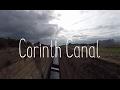 Boondocking near the Corinth Canal - sanitizing water tank