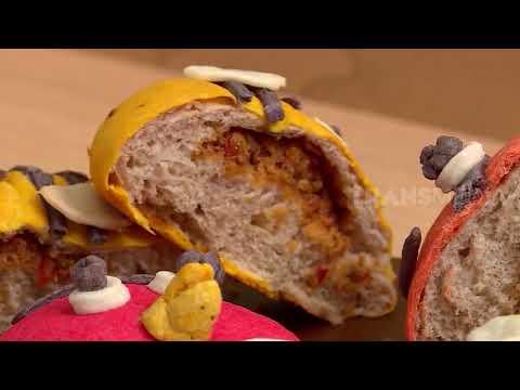 Masak Asik Roti Bekatul Berkarakter Dijamin Anak Suka Si Unyil 18 08 20 Youtube
