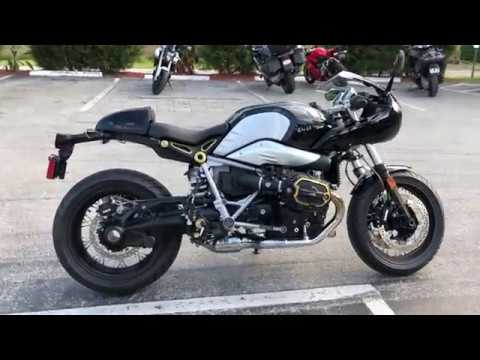 2018 Bmw R Ninet Racer Custom Black Option 719 Club Sport