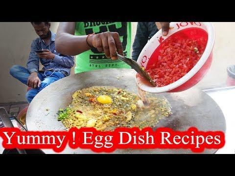 Ramesh Yadav Omelette Center | Yummy EGG DISH Recipe  | Indian Street Food