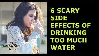 6 Scary Side Effects Of Drinking Too Much Water