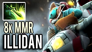RELAX AND DIE! Gyrocopter with 40k Damage by Illidan Stormrage 8k MMR Patch 7.02 Dota 2