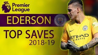 Ederson's best saves from the 2018-19 Premier League season | NBC Sports