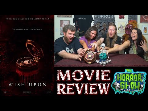 """Wish Upon"" 2017 Horror Movie Review – The Horror Show"
