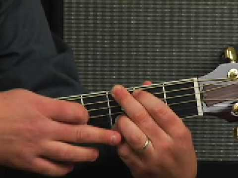 Beginner Acoustic guitar lesson open chords & chord ...