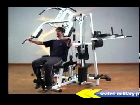 Yukon Fitness Wolverine 4 Station Home Gym Youtube