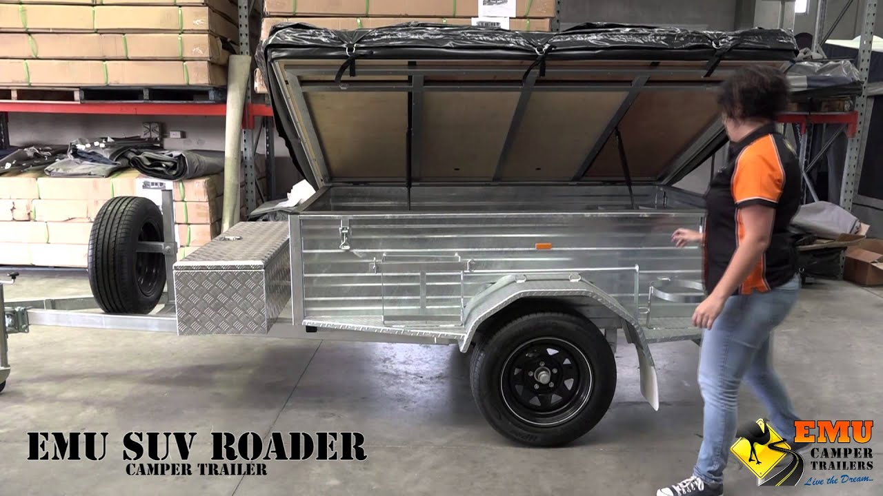 Emu Campers Suv Roader Specifications Youtube