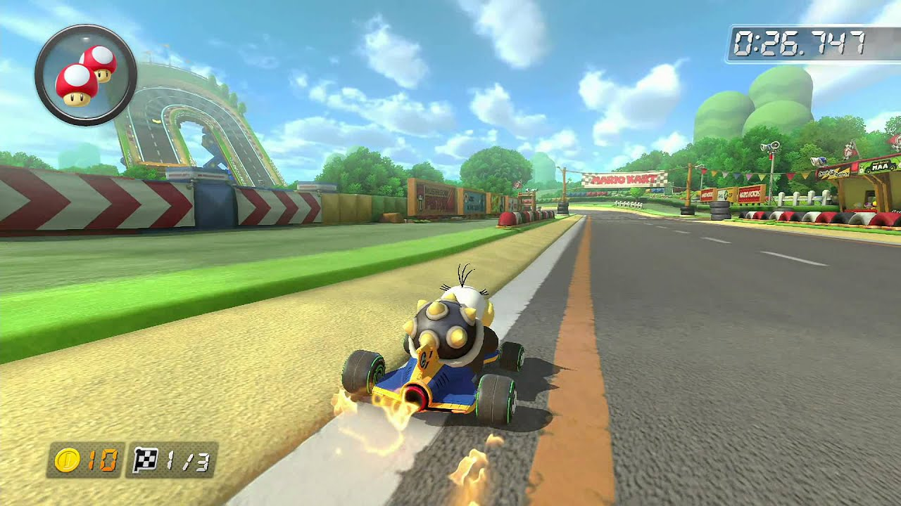 Image result for mario kart 8 gba mario circuit