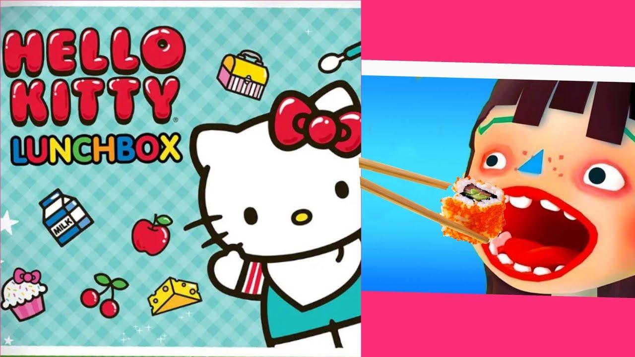 Permainan Anak Masak Masakan Hello Kitty Toca Kitchen Fun Cooking Game For Kids Youtube