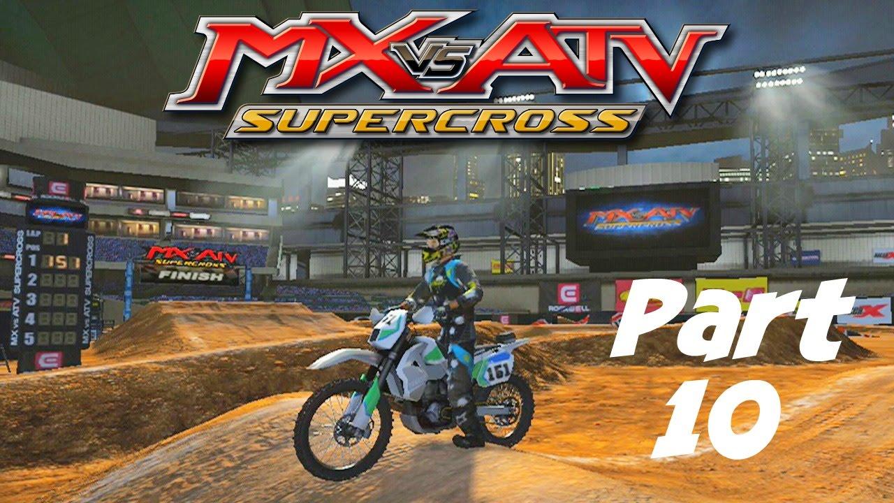 MX vs ATV Supercross! – GameplayWalkthrough – Part 10 – Unlocked 650cc Bike!!!