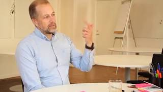 Michael Göthe, consultant in a self-managed and human-centric company | Optimistic Workers in Sweden