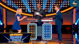Kellie Missed The Buzzer - Celebrity Family Feud by : ABC Television Network
