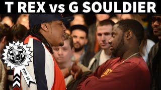 T Rex vs. G Souldier Rap Battle - No Coast/Battle America