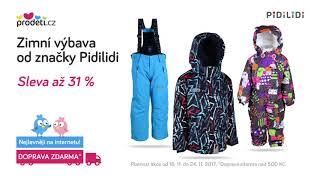 Akce: Zimní výbava Pidilidi - 31 % + Doprava zdarma