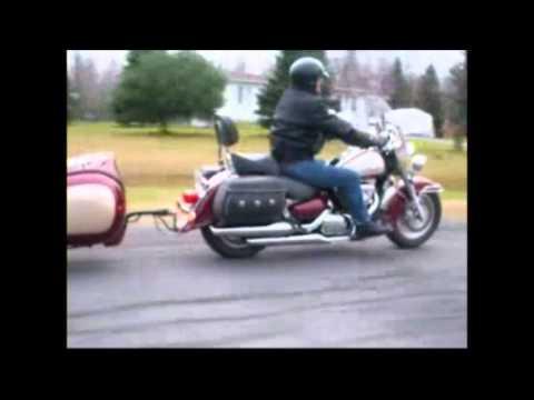 Armoric Design remorque moto mono roue La Globe Tr