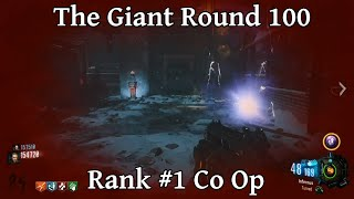 the giant round 100 rank 1 co op high round strategy call of duty black ops 3 zombies