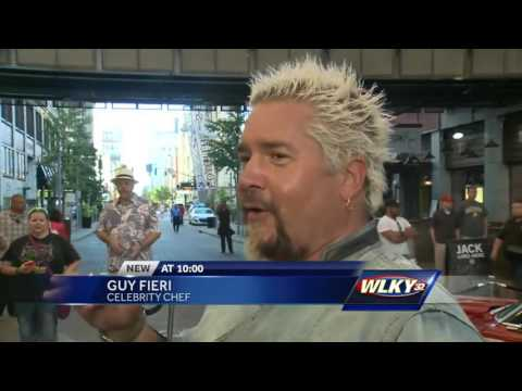 Guy Fieri's new smokehouse is open on Fourth Street Live