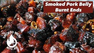 Smoked Pork Belly Burnt Ends - Jalapeno Kick