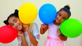 Esma Learn Color With  colorful balloons for kids video