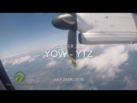 Porter 226   Ottawa (YOW) - Toronto (YTZ)   Trip Report 2018