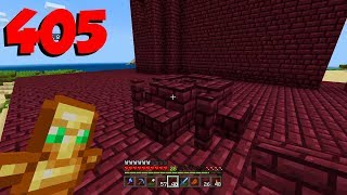 Minecraft Xbox 405 - Building A Fortress In The Overworld