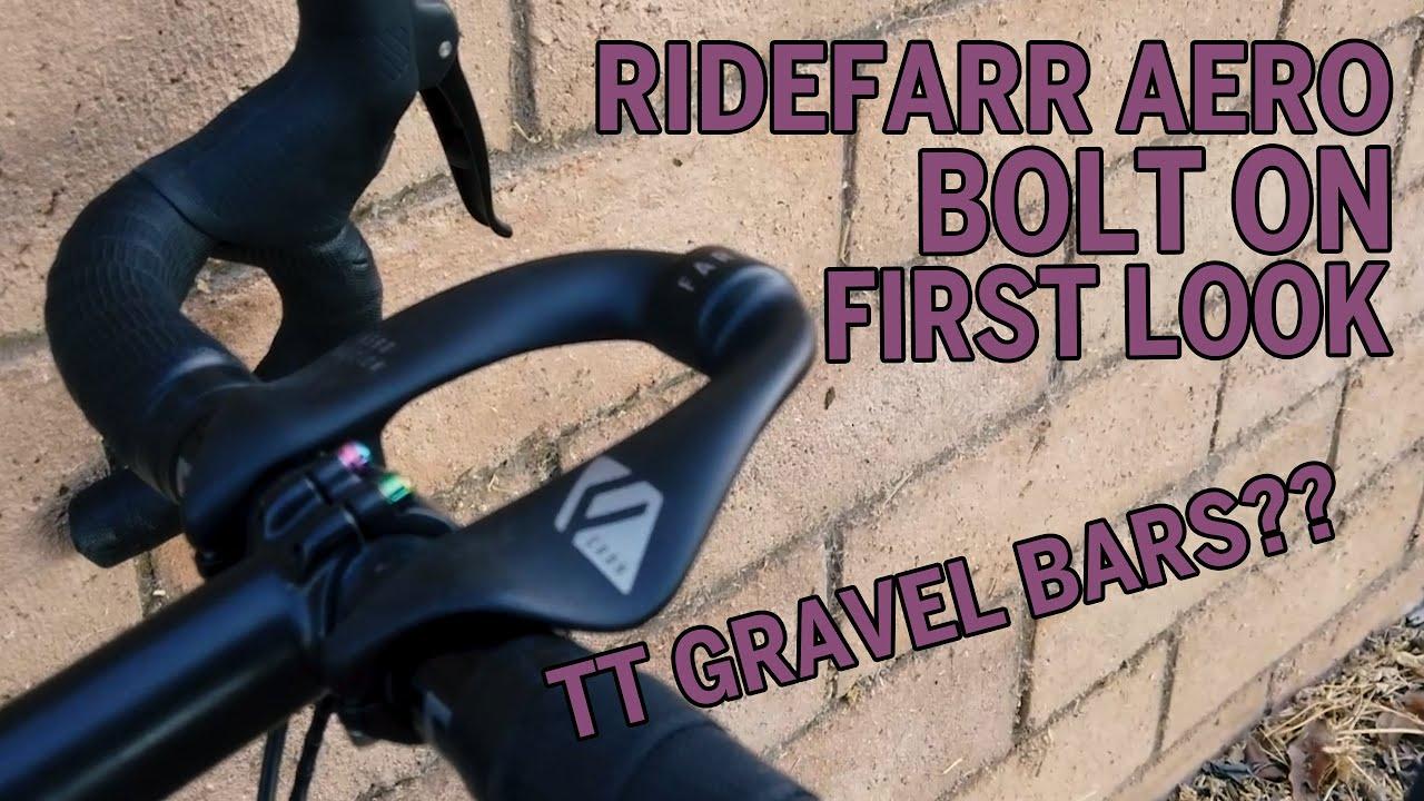 RideFarr Aero Bolt-on Unboxing / First Impression. Aero Gravel?