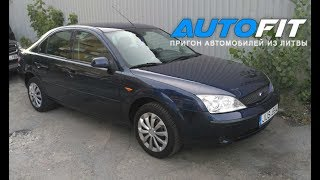 Пригон Авто из Литвы, Ford Mondeo 1.8 бензин, 2003 год, за 1500€