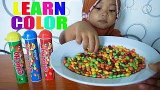 Balita Belajar warna | Learn colors with chacha Candy