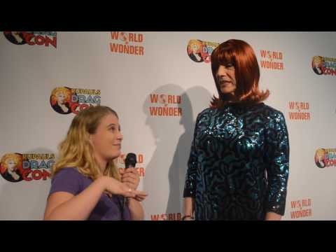 Coco Peru Interview at Ru Paul's Drag Con