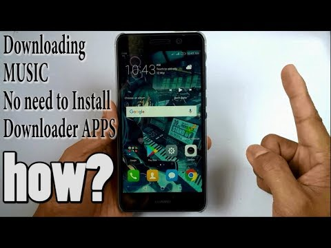 How to download music on Android without installing apps