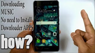 Download How to download music on Android without installing apps