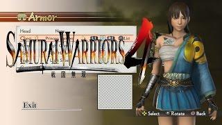 Samurai Warriors 4 - Create a Character -