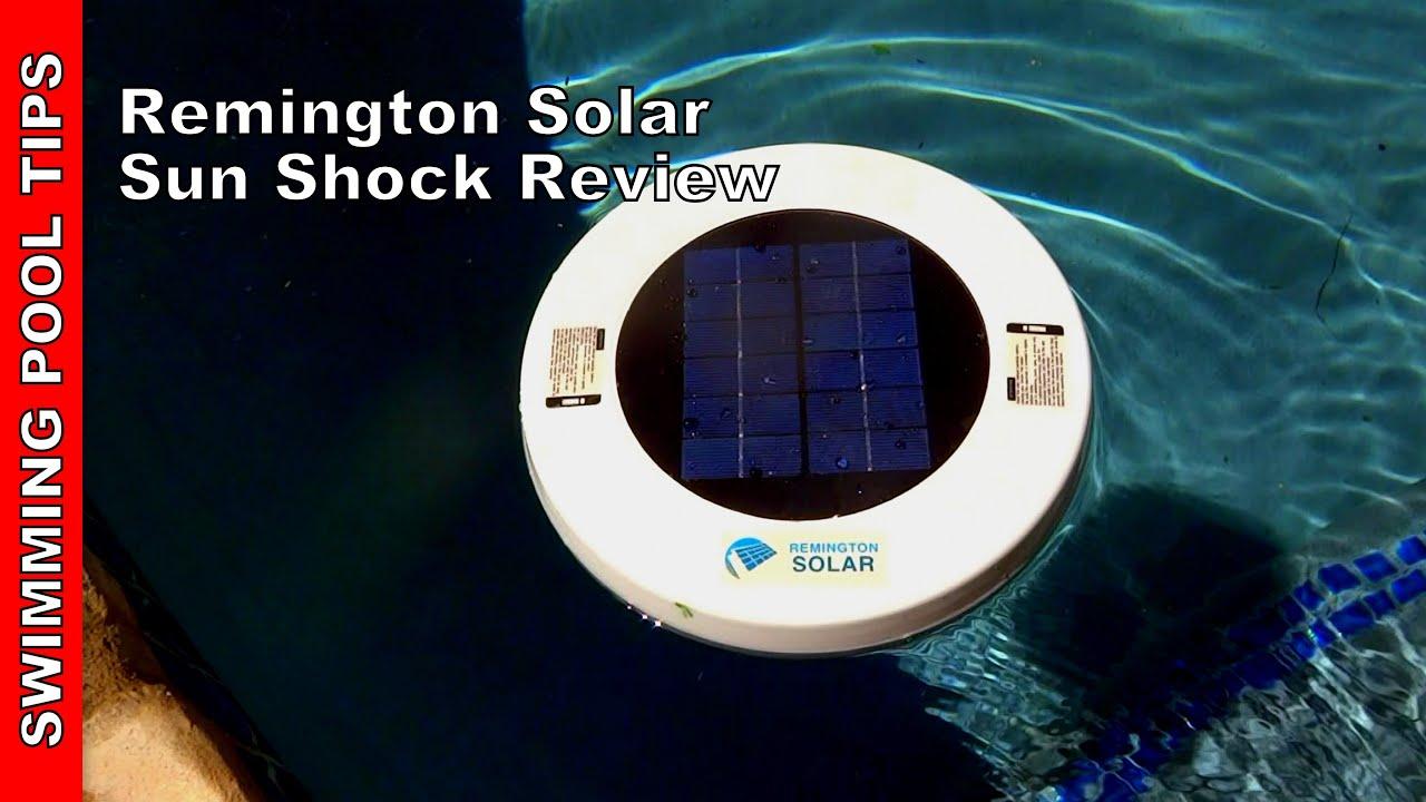 Remington Solar Chlorine Free Sun Shock For An Algae